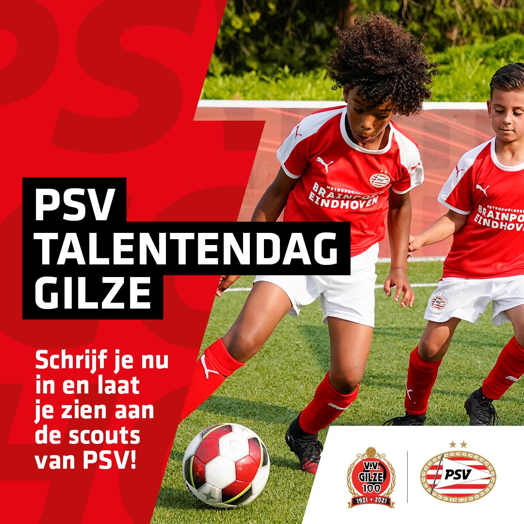 PSV talentendag - Gilze