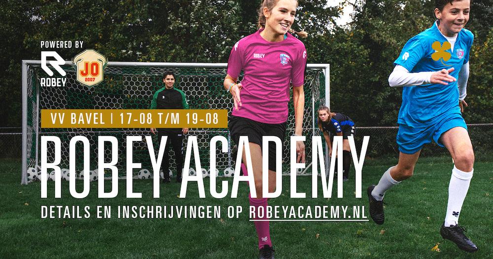 Robey Academy bij v.v. Bavel