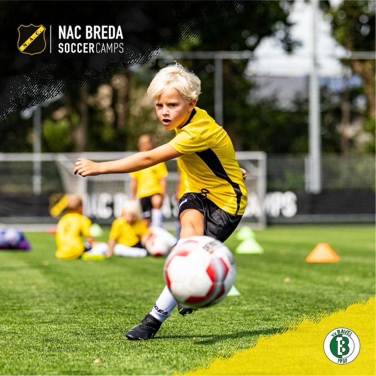 Schrijf je in voor het NAC Breda Soccer Camp bij v.v. Bavel!